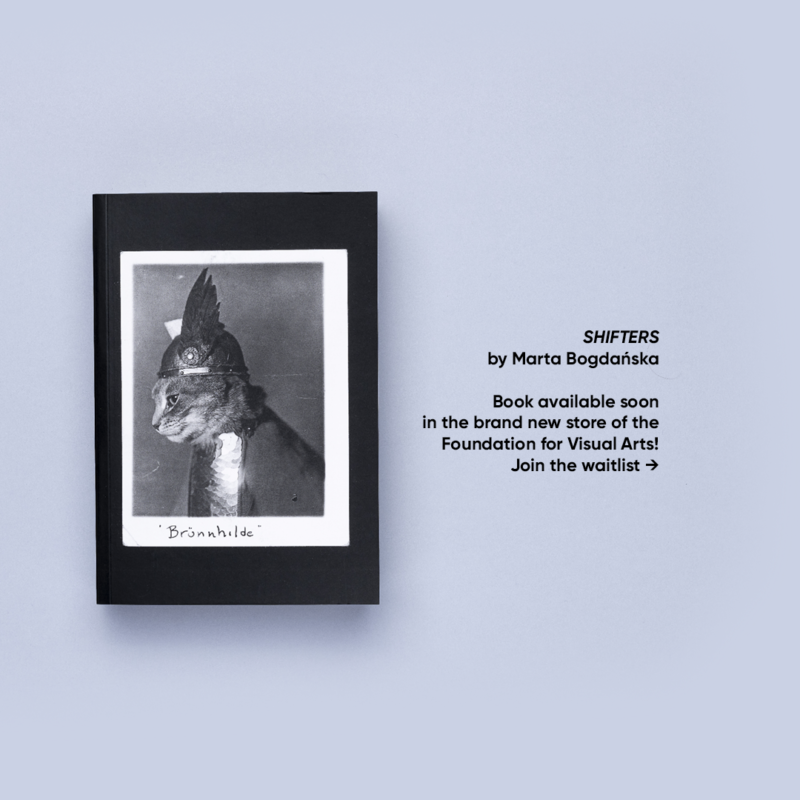 SHIFTERS book available soon in the brand new store of the Foundation for Visual Arts!