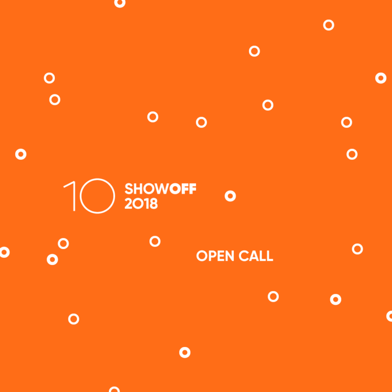 3 days left to submit your ShowOFF application!