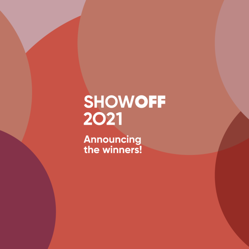 ShowOFF 2021: meet the winners!