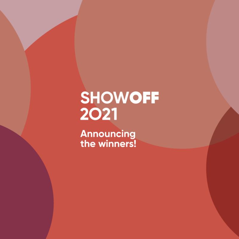ShowOFF 2021: meet the winners!